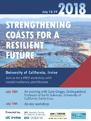 2018 Coastal Resilience Workshop at UC Irvine