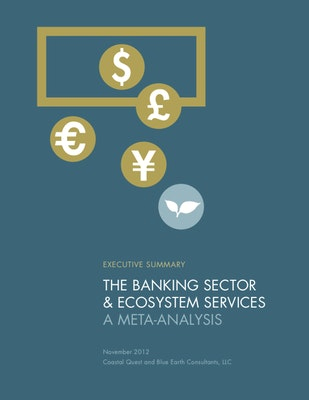 The Banking Sector & Ecosyst em Services A Meta-Analysis