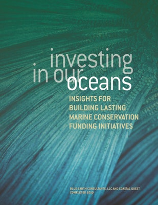 Investing in Our Oceans: Insights for Building Lasting Marine Conservation Initiatives
